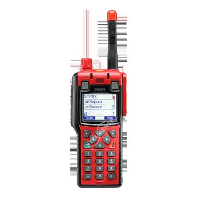 Rádio Portátil Troncalizado Digital Tetra STP8X000 Atex Sepura
