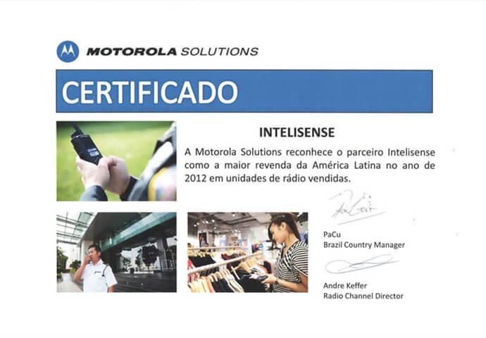 econhecimento de Maior Revenda da América Latina 2012