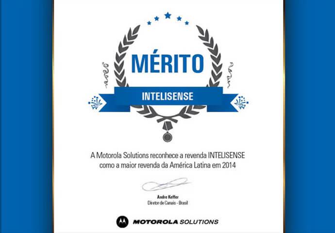 Reconhecimento de Maior Revenda da América Latina 2014